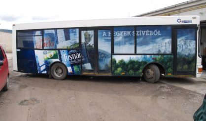 Autocolantare autobuze
