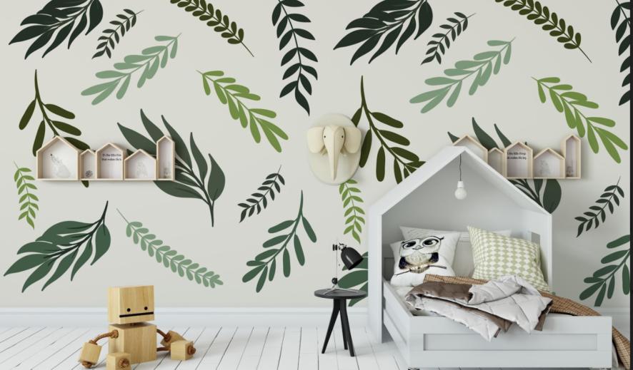 Decorări interioare cu tapeturi imprimate-luna decorării camerelor copiilor noștri