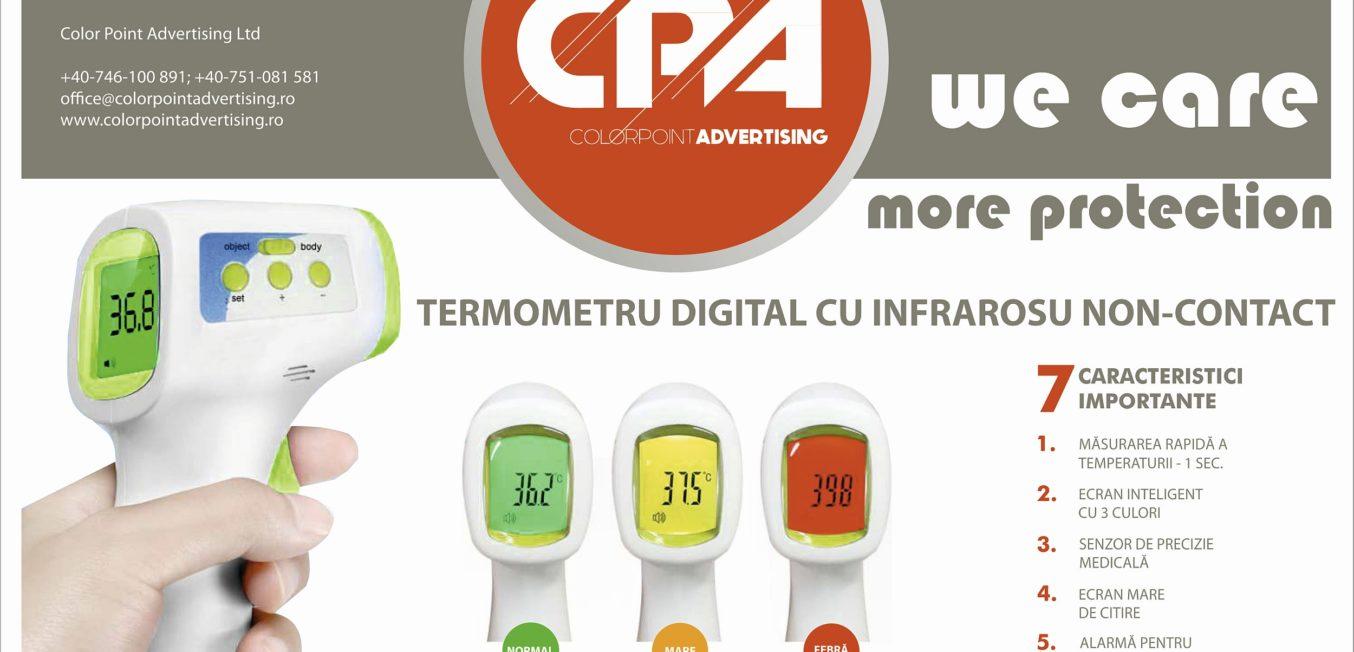 Digitális non-contact hőmérő